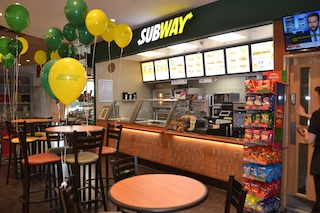 New flagship features Subway