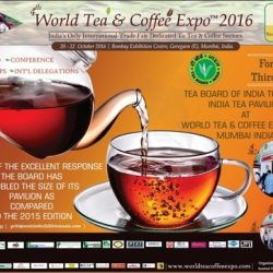 Tea Board of India partners with World Tea and Coffee Expo, Mumbai, to promote domestic tea trade