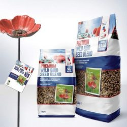 Gardman Wild Bird Care partners with The Royal British Legion to raise £200,000 for the Armed Forces community