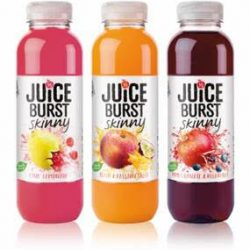 Purity Soft Drinks launches two new JUICEBURST Skinny flavours