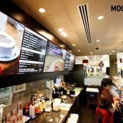 BrightSign and Mood Media deliver the first Costa Coffee digital menu boards in Dubai