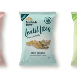 Fairfields Farm Crisps targets health sector with new Lentil Lites