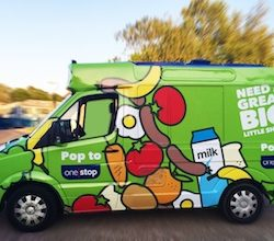 One Stop rolls out experiential marketing campaign with customised ice cream van