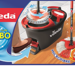 Vileda turbo-charges its bestselling Easy Wring & Clean mop and bucket