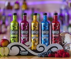 Corky's Schnapps refreshes brand image with new sleeved bottles