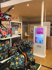 Cosatto maximises retail floorspace in Mothercare with Pioneer Digital interactive kiosks