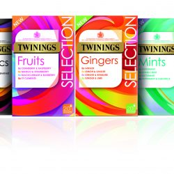 Twinings relaunches new pack design for fruit, herbal and green teas