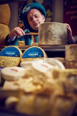 Morrisons cheesemonger is inducted into prestigious Guild Des Fromagers