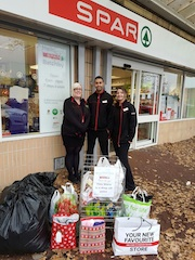 Blakemore Retail Spar stores support the Worcestershire Homeless Appeal