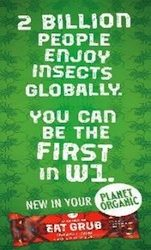 Ads with behavioural nudges boost sales of grub bars made with crickets at Planet Organic