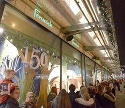 Fenwick Newcastle unveils Beatrix Potter animated Christmas windows