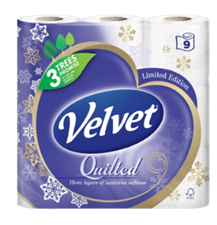 Velvet Quilted is bringing excitement to the aisle and home with festive-themed packs