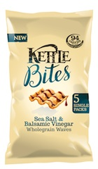 KETTLE Bites adds new products to range of lower calorie baked snacks