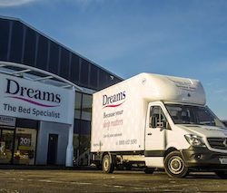 Dreams adopts Paragon's fleXipod electronic proof of delivery system