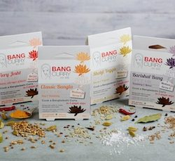 Booths to stock Bang Curry spice packs and recipe kit from February