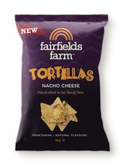 New 'Tortillas' join the Fairfields Farm range