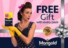 Marigold celebrates 70th anniversary with on-pack promotion on best-selling kitchen gloves