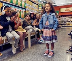 Children as young as five-years-old like to choose their own clothes, Morrisons research shows