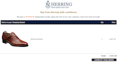 Herring Shoes achieves highest sales conversion rates with Fresh Relevance