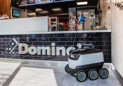 Starship Technologies launches pilot program with Domino's Pizza Enterprises
