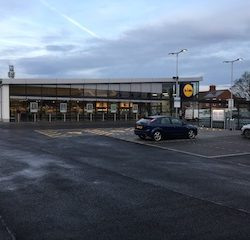Building and civil engineering firm Britcon completes two new Lidl concept stores