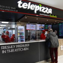 Telepizza, world's largest pizza delivery company outside US, opens first UK outlet
