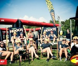 Hooch brings the #Hoochlife to Bournemouth 7s for a weekend of outrageous antics