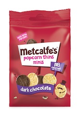 Metcalfe's launches Salted Caramel Popcorn and extends new look across the range