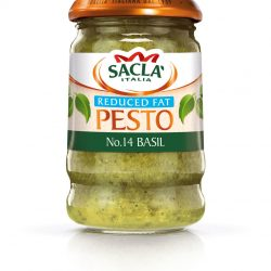 Sacla' launches reduced fat Pesto in Basil and Sundried Tomato variants