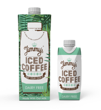 Jimmy's Iced Coffee launches dairy free flavour in selected Waitrose, Sainsbury's and Whole Foods