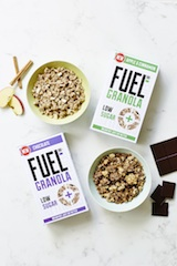 Tesco snaps up FUEL10K's new Low Sugar Granolas
