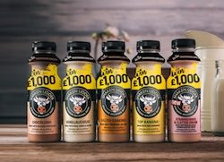 Shaken Udder launches biggest on-pack promotion to date