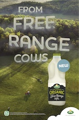 Arla Foods builds on success of Organic Milk launch by dialling up free range credentials