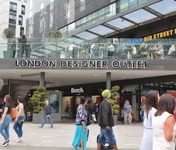 Converse puts its best foot forward at London Designer Outlet
