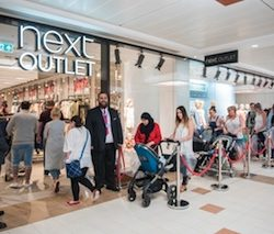 UK's first full-price/outlet hybrid centre, Princes Quay, re-launches