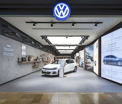 Volkswagen launches new concept store at Bullring, Birmingham