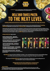Leading chilled pasta brand, Dell'Ugo, set to disrupt market with new launch