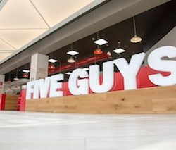 Intu continues to expand retail and leisure mix with Five Guys to beef up offer in Derby