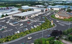 Leeds retail park now 85% occupied as construction begins