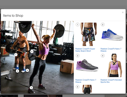 Reebok makes social lifestyle content shoppable for first time to hone ideal customer journey