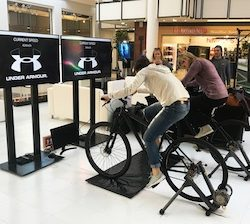 Under Armour employs interactive activation to launch new store in SA