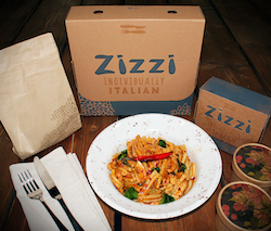 Zizzi unveils new packaging range for takeaway offering