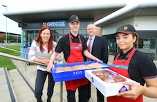 Greggs launches national apprenticeship programme