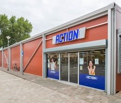 Neptunus builds a temporary retail store for Dutch discounter, Action