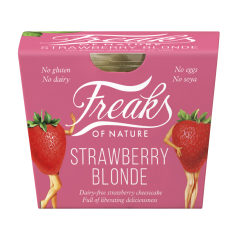 British brand, Freaks of Nature, launches plant-based chilled cheesecake range