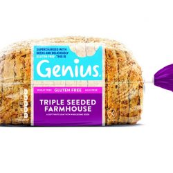 Free-from bakery category leader, Genius Gluten Free, launches new brand identity