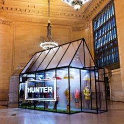 Hunter to take over Vanderbilt Hall at New York's Grand Central Terminal with pop-up shop