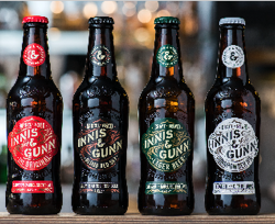 Scottish craft brewer, Innis & Gunn, launches new unified brand identity across core range packaging
