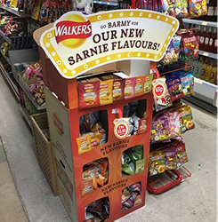 Smurfit Kappa tastes the flavour of success with award-winning displays