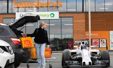 Sainsbury's partners with Williams F1 to accelerate energy-savings in supermarket 'first'